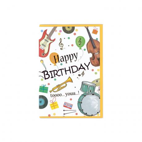 Carte de salutations Happy Birthday