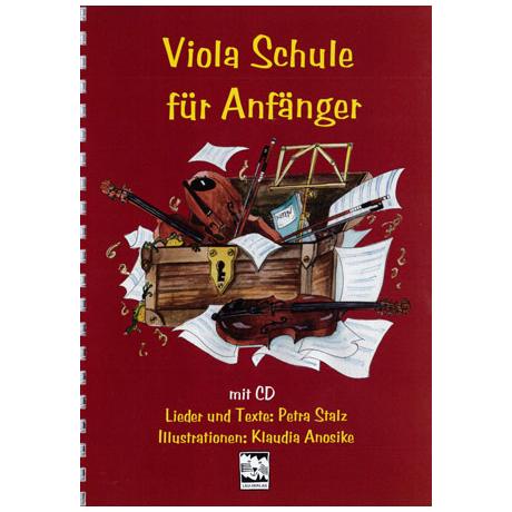 Stalz, P.: Viola-Schule für Anfänger (+CD)