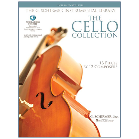 The Cello Collection intermediate level (+Online Audio)