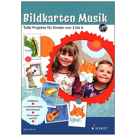 Bildkarten Musik (+ CD)