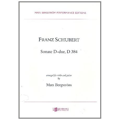 Schubert, F.: Sonate D-Dur D384
