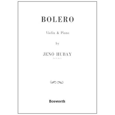 Hubay, J.: Bolero Op. 51 Nr. 3