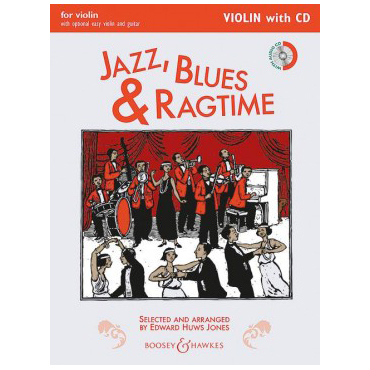 Huws Jones, E.: Jazz Blues And Ragtime (+CD)