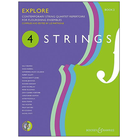 4 Strings: Explore – Partitur (+CD)