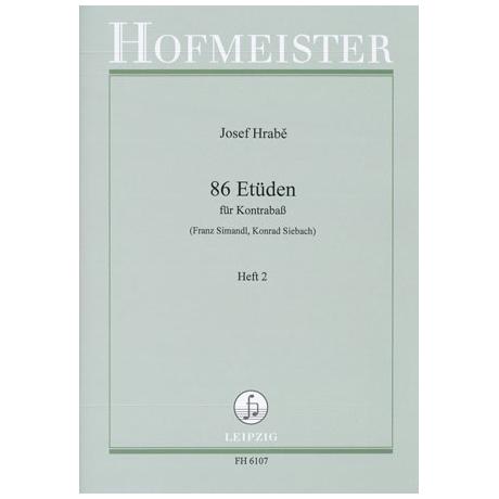 Simandl, F.: 86 Etüden Heft 2
