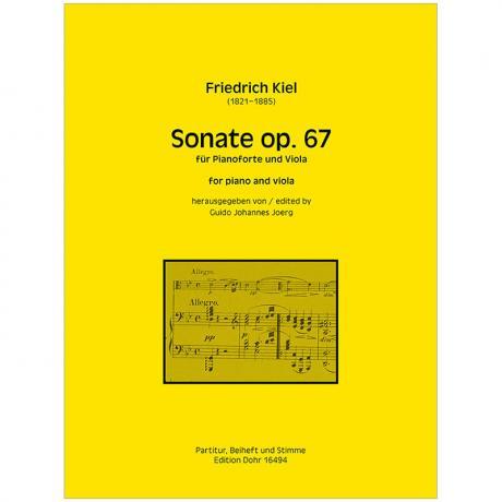 Kiel, F.: Violasonate Op. 67