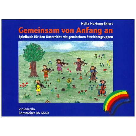 Hartung-Ehlert, H.: Gemeinsam von Anfang an – Spielbuch Violoncello