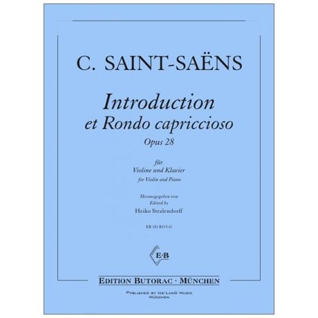 Saint-Saëns, C.: Introduction et Rondo capriccioso Op. 28