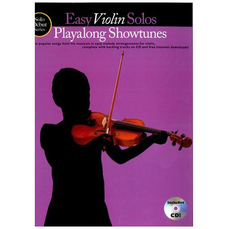 Solo Debut: Playalong Showtunes - Easy Violin Solos