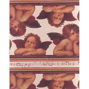 Papier-Cadeau Musica Anges