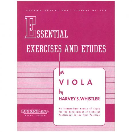 Whistler, H. S.: Essential Exercises and Etudes for Viola