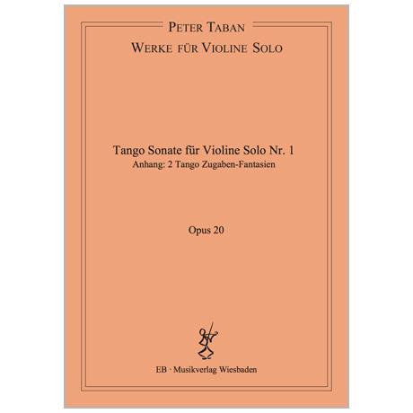 Taban, P.: Tango Sonate Nr. 1 Op. 20