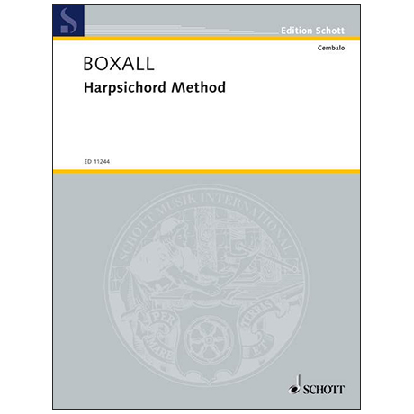 Boxall, M.: Harpsichord Method