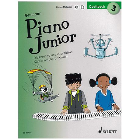 Heumann, H.-G.: Piano Junior – Duettbuch Band  (+Online Material)