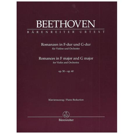 Beethoven, L. v.: Romanzen Op. 40 & Op. 50