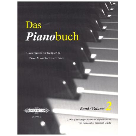 Das Pianobuch Band II - mittelschwer bis schwer
