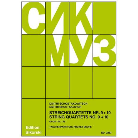 Shostakovich, D.: String Quartets Nos. 9 and 10