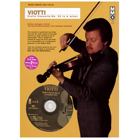 Viotti: Violin Concerto No.22 A minor (+CD)