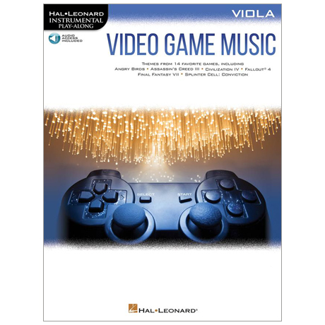 Video Game Music for Viola (+Online Audio)