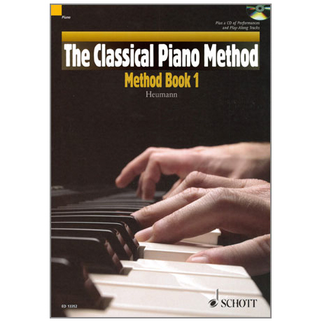Heumann: The Classical Piano Method - Method Band 1 (+CD)