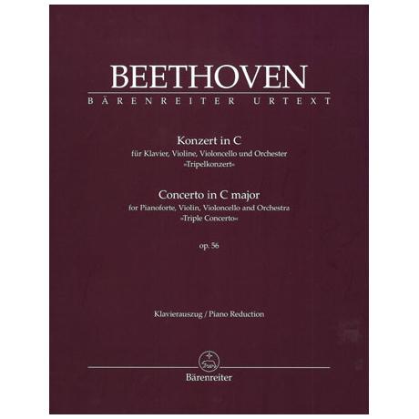 Beethoven, L. v.: Konzert Op. 56 C-Dur »Tripelkonzert«