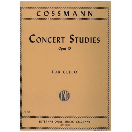 Cossmann, B.: Konzertetüden Op. 10