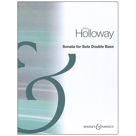 Holloway, R.: Kontrabasssonate Op. 83b