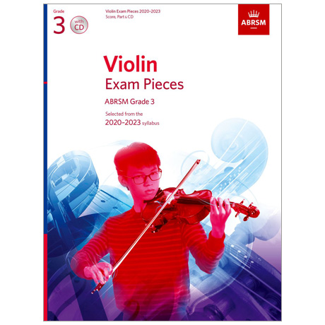 ABRSM: Violin Exam Pieces Grade 3 (2020-2023) (+CD)