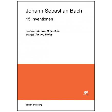 Bach, J. S.: 15 Inventionen