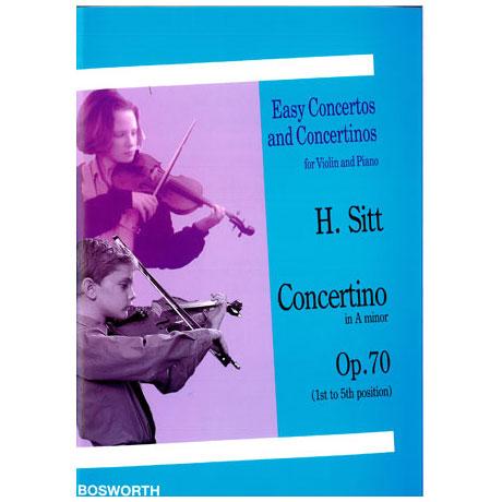 Sitt, H.: Concertino Op. 70 a-Moll