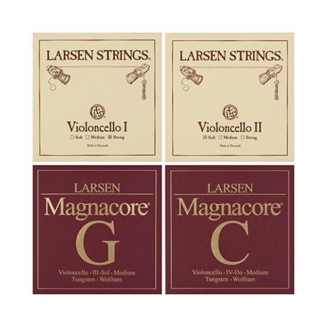 LARSEN Magnacore cordes violoncelle JEU