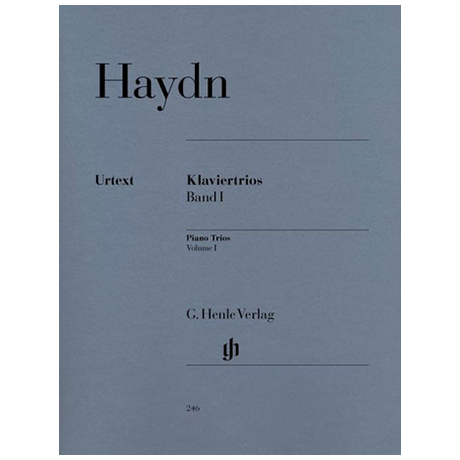 Haydn, J.: Klaviertrios Band 1 Hob XV:1, 2, 34-38, 40, 41