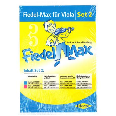 Holzer-Rhomberg, A.: Fiedel-Max für Viola Set 2
