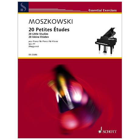 Moszkowski, M.: 20 Petites Études Op. 91