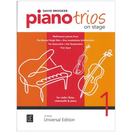 Brooker, D.: Piano Trios on Stage