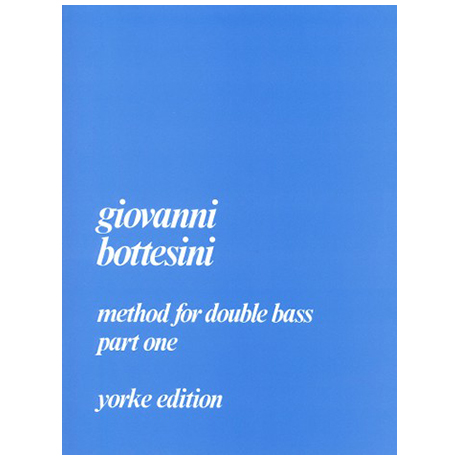 Bottesini, G.: Method for Double Bass Part 1