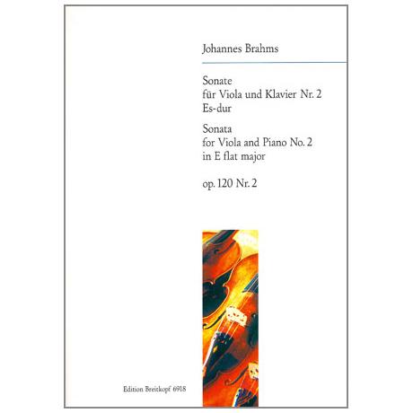 Brahms, J.: Violasonate Op. 120/2 Es-Dur