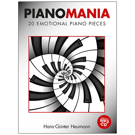 Heumann, H.-G.: Pianomania – 20 Emotional Piano Pieces (+MP3-CD)