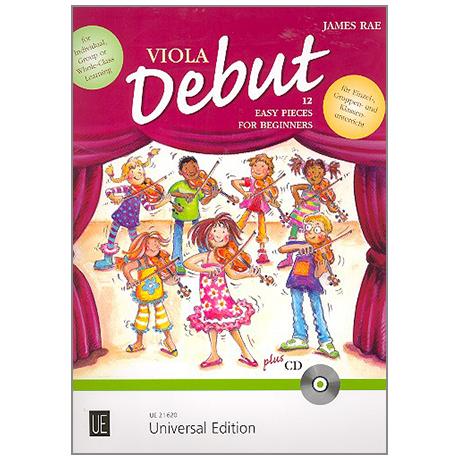 Rae, J.: Viola Debut (+CD)
