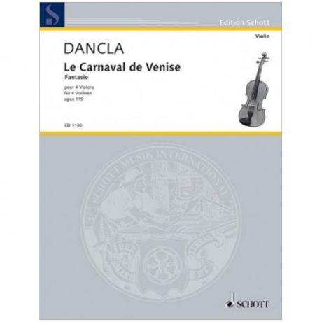 Dancla, C.: Le Carnaval de Venise Op. 119 – Fantaisie Brillante