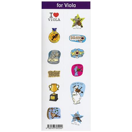 Blackwell, K. & D.: String Time Sticker for Viola