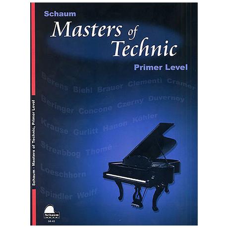 Schaum - Masters Of Technic, Primer Level