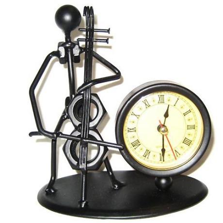 Horloge violoncelliste