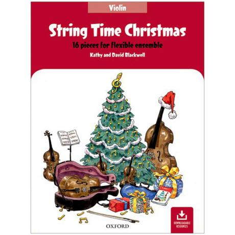 Blackwell, K. & D.: String Time Christmas – Violin (+Online Audio)