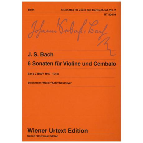 Bach, J. S.: 6 Violinsonaten Band 2 BWV 1017-1019