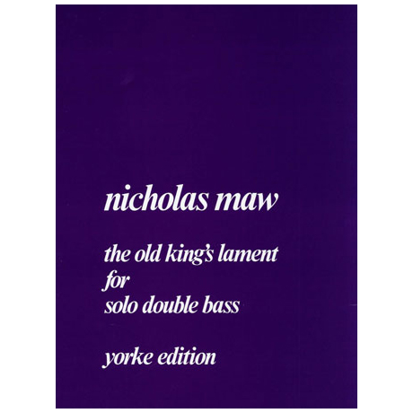 Maw, N.: The old King's Lament