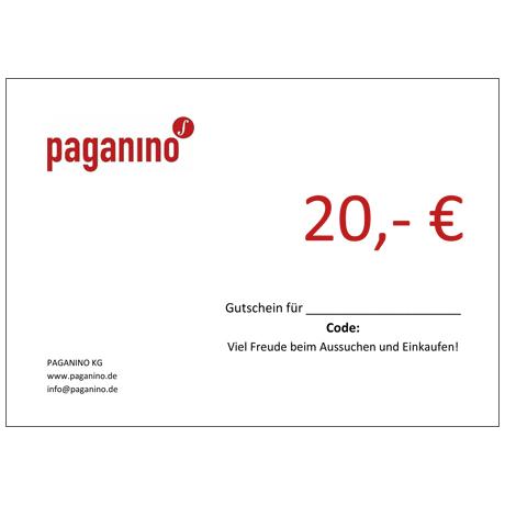 Bon d'achat 20,- EUR