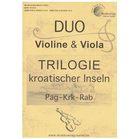 DUO Violine & Viola: TRILOGIE kroatischer Inseln