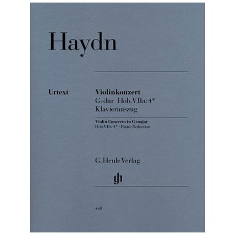 Haydn, J.: Violinkonzert G-Dur, Hob. VIIa: 4