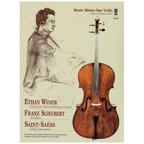 Ethan Winer: Cellokonzert / Schubert: Ave Maria / Saint-Saens: Allegro Appassionato (+2CDs)